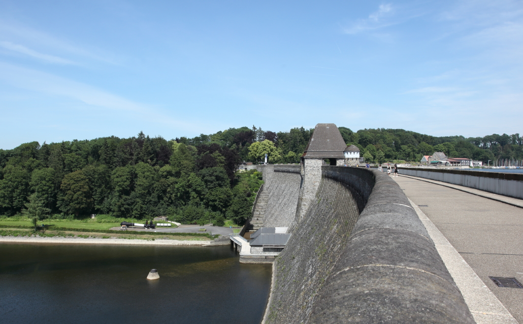 Staumauer Möhnesee